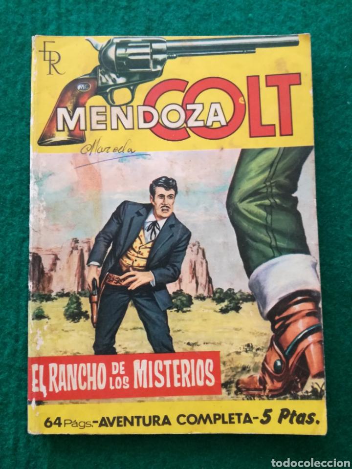 MENDOZA COLT N°47 (Tebeos y Comics - Rollán - Mendoza Colt)