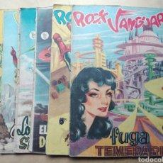 Tebeos: LOTE ROCK VANGUARD N° 5 - 6 - 7 -10 - 11 -12 EDICIÓN ROLLAN. Lote 130351358