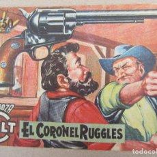 Tebeos: MENDOZA COLT , N.64 , EL CORONEL RUGGLES , ROLLAN 1958. Lote 130537810