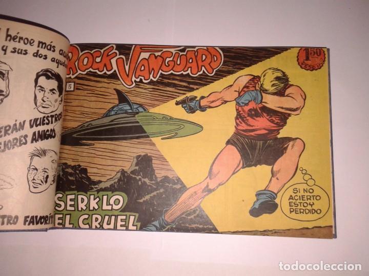 COLLECCIÓN DEL 1 AL 29 NÚMEROS DE ROCK VANGUARD, ENCUADERNADOS (Tebeos y Comics - Rollán - Rock Vanguard)