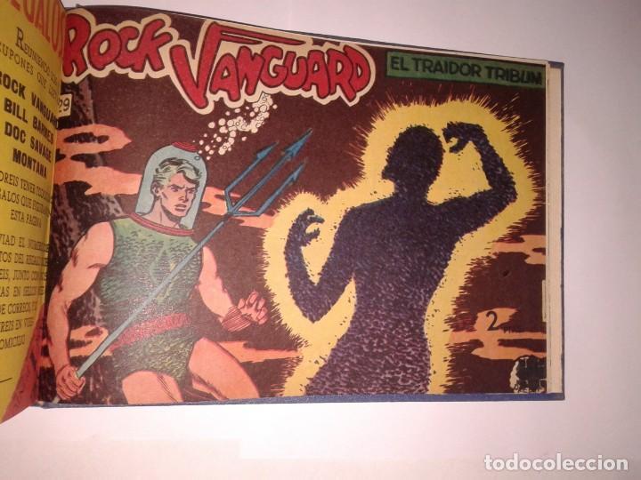 Tebeos: collección del 1 al 29 números de Rock Vanguard, encuadernados - Foto 4 - 130840436