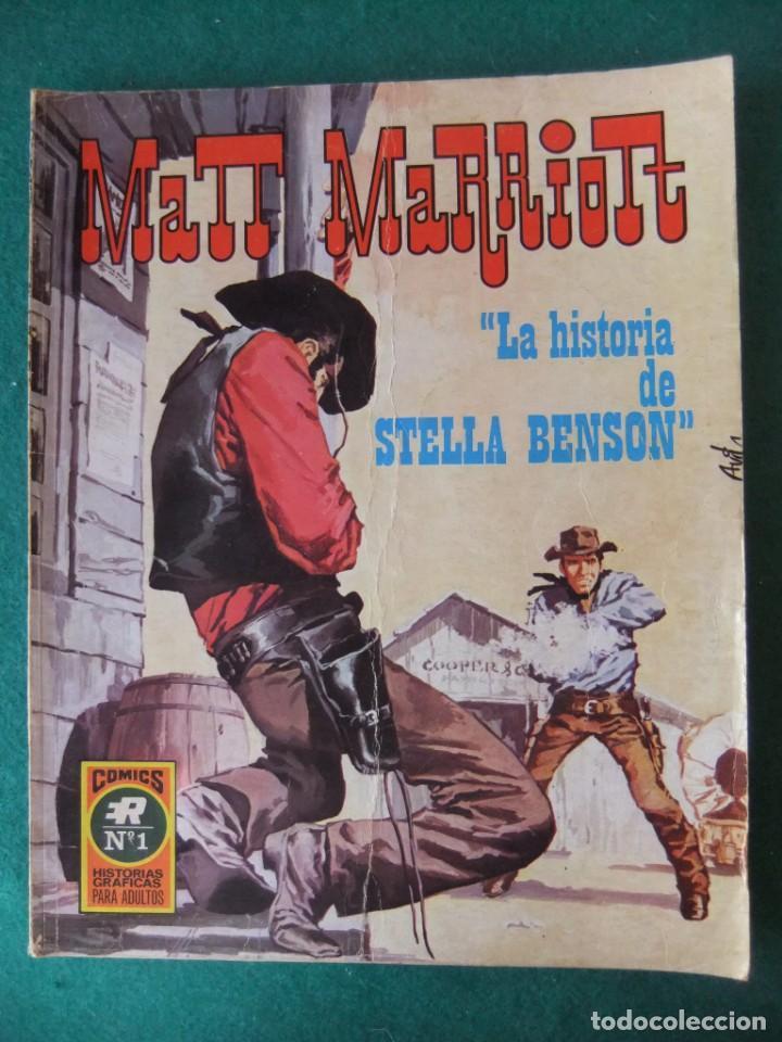 MATT MARRIOTT Nº 1 LA HISTORIA DE STELLA BENSON COMICS ROLLAN (Tebeos y Comics - Rollán - Series Rollán (Azul, Roja, etc))