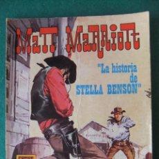 Tebeos: MATT MARRIOTT Nº 1 LA HISTORIA DE STELLA BENSON COMICS ROLLAN. Lote 131179364