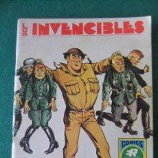Tebeos: LOS INVENCIBLES Nº 4 BOMBARDERO BRIGGS COMICS ROLLAN. Lote 137394101
