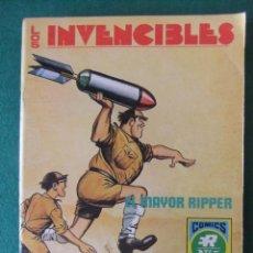 Livros de Banda Desenhada: LOS INVENCIBLES Nº 5 EL MAYOR RIPPER COMICS ROLLAN. Lote 131179636