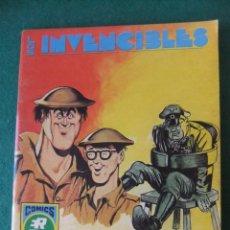 Tebeos: LOS INVENCIBLES Nº 6 LOS HISTRIONES COMICS ROLLAN. Lote 131179924