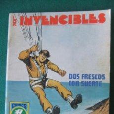 Tebeos: LOS INVENCIBLES Nº 7 DOS FRESCOS CON SUERTE COMICS ROLLAN. Lote 131180084