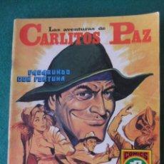Tebeos: LAS AVENTURAS DE CARLITOS PAZ Nº 12 VAGABUNDO CON FORTUNA COMICS ROLLAN. Lote 131180228