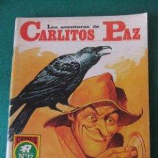 Tebeos: LAS AVENTURAS DE CARLITOS PAZ Nº 17 EL GRAJO COMICS ROLLAN. Lote 131180576