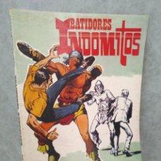 Tebeos: BATIDORES INDOMITOS - ROLLAN - 1973 - INCLUYE LLAVES DE UN IMPERIO Y LOS COYOTES NEGROS. Lote 131902514
