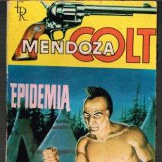 Tebeos: MENDOZA COLT Nº 66 EPIDEMIA ED. ROLLAN 1965. Lote 132030786