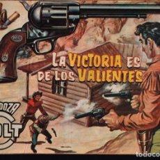 Tebeos: MENDOZA COLT. Nº-97 LA VICTORIA ES DE LOS VALIENTES. EDITORIAL ROLLAN 1960. Lote 132224726