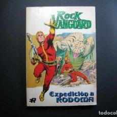 Tebeos: ROCK VANGUARD (1974, ROLLAN) 4 · 1974 · EXPEDICIÓN A RODOMA. Lote 133402014