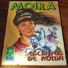 Tebeos: MUY BUEN ESTADO MOIRA 1 ROLLAN. Lote 133713802