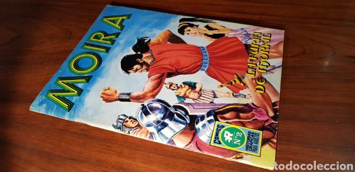 CASI EXCELENTE ESTADO MOIRA 2 ROLLAN (Tebeos y Comics - Rollán - Series Rollán (Azul, Roja, etc))