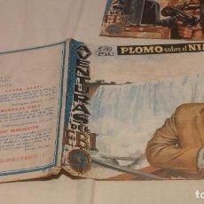 Tebeos: AVENTURAS DEL FBI - Nº 181 - PLOMO SOBRE EL NIAGARA - ORIGINAL - EDITORIAL ROLLAN - AÑO 1958.. Lote 134739762