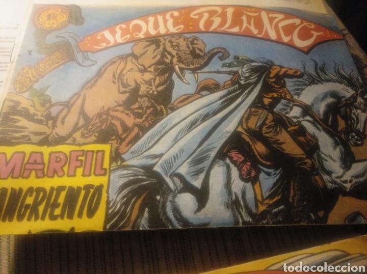 MARFIL SANGRIENTO, JEQUE BLANCO, EDITORIAL ROLLAN N 10 (Tebeos y Comics - Rollán - Jeque Blanco)
