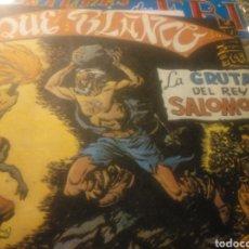 Tebeos: JEQUE BLANCO, LA GRUTA DEL REY SALOMON N 12. Lote 135070047