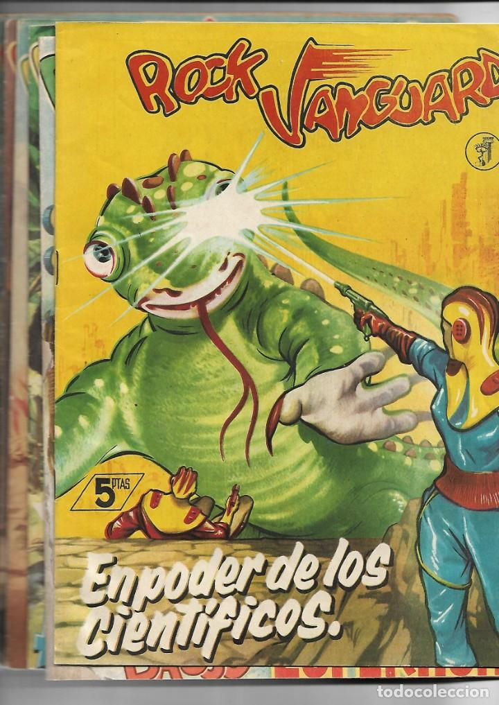ROCK VANGUARD, AÑO 1.958 COLECCIÓN COMPLETA SON 12 TEBEOS ORIGINALES NUEVOS MUY DIFICIL A. GUERRERO (Tebeos y Comics - Rollán - Rock Vanguard)