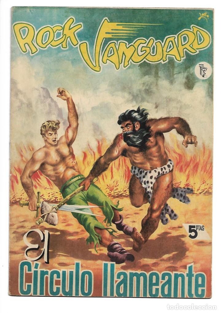 Tebeos: Rock Vanguard, Año 1.958 Colección Completa son 12 Tebeos Originales Nuevos muy dificil A. Guerrero - Foto 6 - 135082550