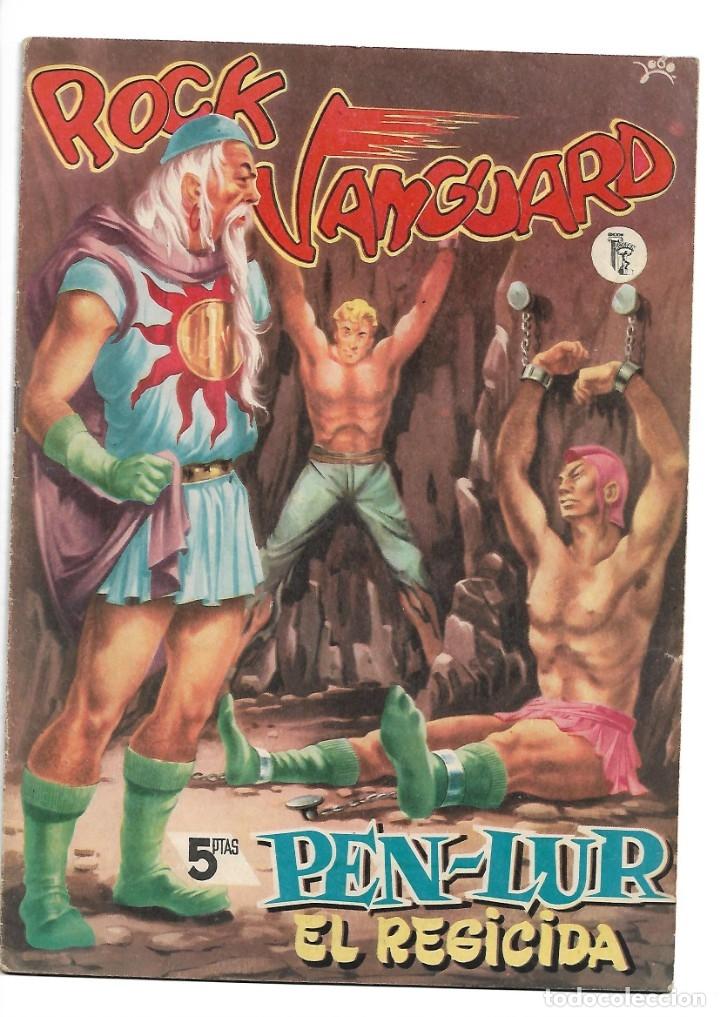 Tebeos: Rock Vanguard, Año 1.958 Colección Completa son 12 Tebeos Originales Nuevos muy dificil A. Guerrero - Foto 8 - 135082550