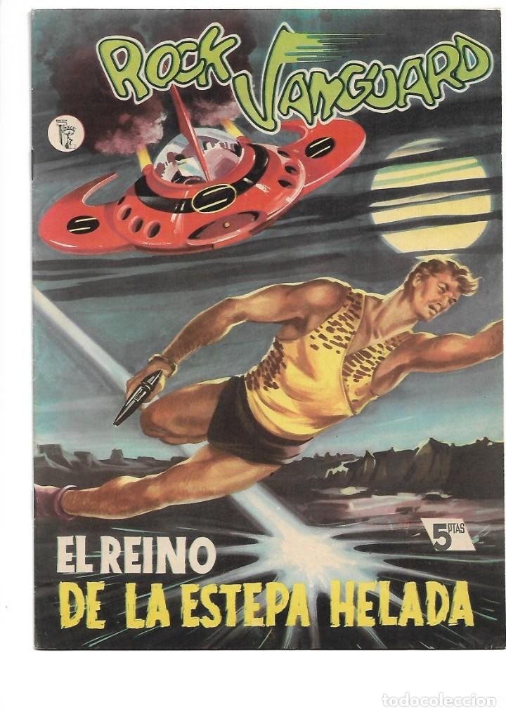 Tebeos: Rock Vanguard, Año 1.958 Colección Completa son 12 Tebeos Originales Nuevos muy dificil A. Guerrero - Foto 14 - 135082550