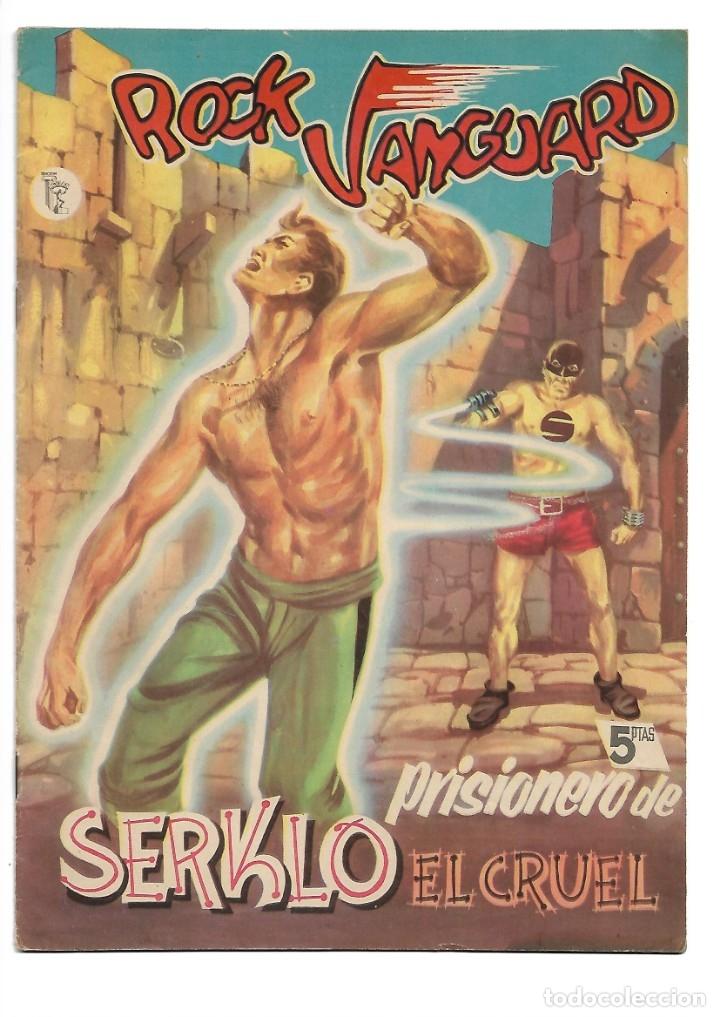 Tebeos: Rock Vanguard, Año 1.958 Colección Completa son 12 Tebeos Originales Nuevos muy dificil A. Guerrero - Foto 16 - 135082550