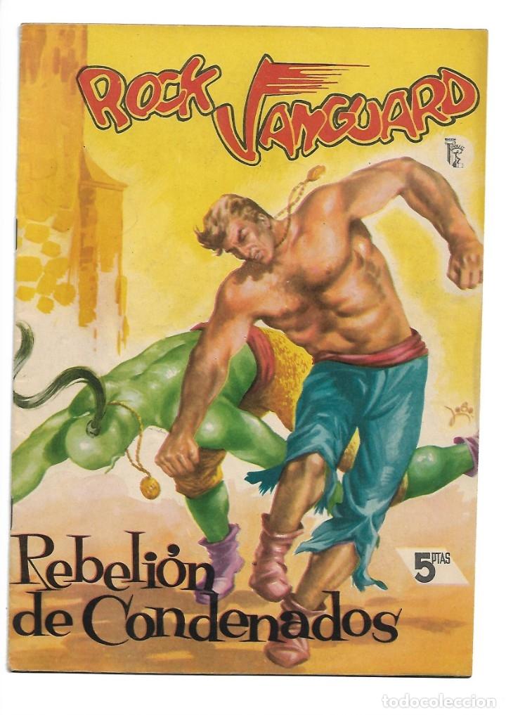 Tebeos: Rock Vanguard, Año 1.958 Colección Completa son 12 Tebeos Originales Nuevos muy dificil A. Guerrero - Foto 18 - 135082550
