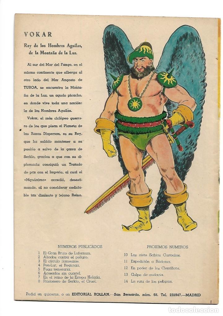 Tebeos: Rock Vanguard, Año 1.958 Colección Completa son 12 Tebeos Originales Nuevos muy dificil A. Guerrero - Foto 19 - 135082550