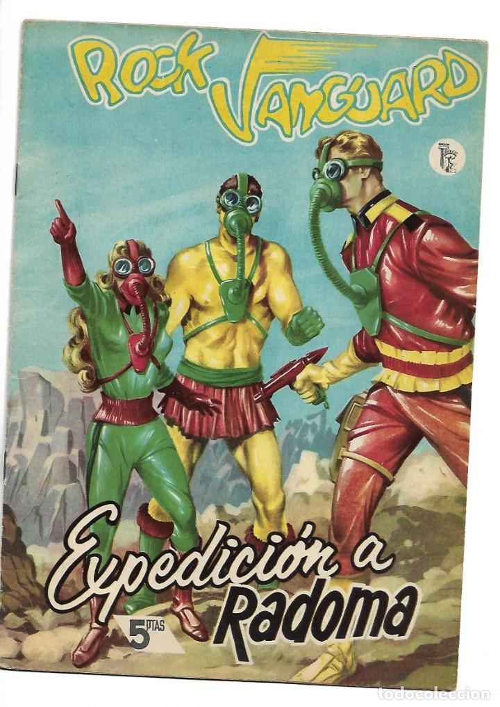 Tebeos: Rock Vanguard, Año 1.958 Colección Completa son 12 Tebeos Originales Nuevos muy dificil A. Guerrero - Foto 22 - 135082550