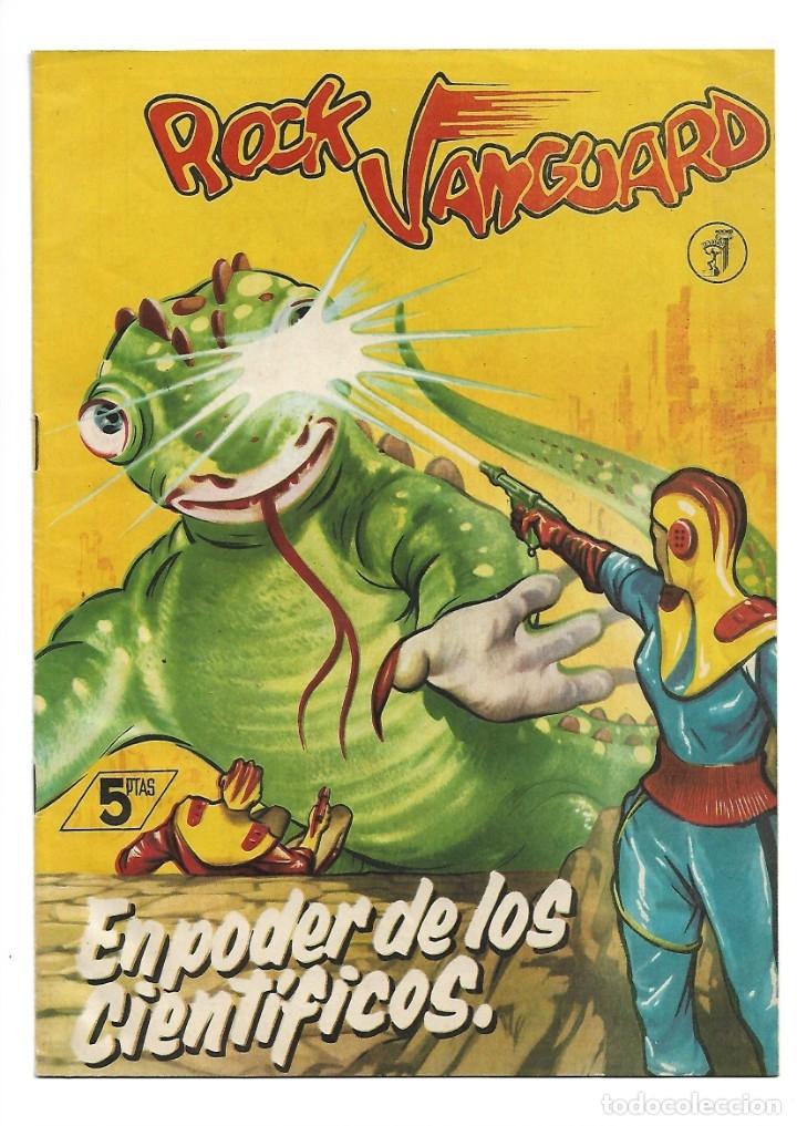 Tebeos: Rock Vanguard, Año 1.958 Colección Completa son 12 Tebeos Originales Nuevos muy dificil A. Guerrero - Foto 24 - 135082550