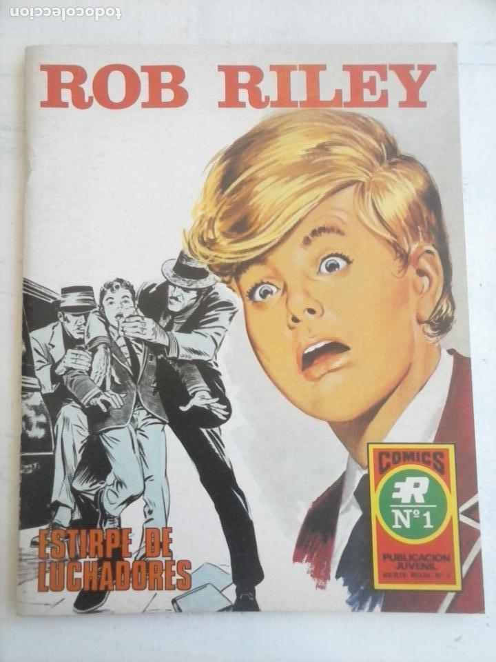 ROB RILEY Nº 1 - IMPECABLE - EDI. ROLLAN 1973 (Tebeos y Comics - Rollán - Series Rollán (Azul, Roja, etc))