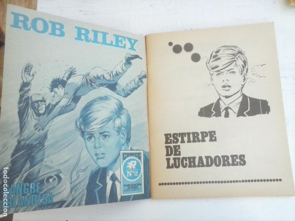Tebeos: ROB RILEY Nº 1 - IMPECABLE - EDI. ROLLAN 1973 - Foto 3 - 135185262