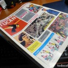 Livros de Banda Desenhada: TUCAN, 1-2-3-4-5-6-8, SON 7 NUMEROS EN MUY BUEN ESTADO DE CONSERVACION, NUEVOS, RESERVADOS!!. Lote 190311811