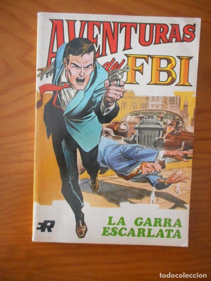 AVENTURAS DEL FBI. LA GARRA ESCARLATA. NÚMERO 2. EDITORIAL ROLLÁN. 1974 (Tebeos y Comics - Rollán - FBI)