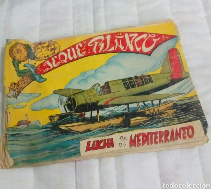 COMIC ANTIGUA JEQUE BLANCO (Tebeos y Comics - Rollán - Jeque Blanco)