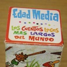 Tebeos: LOS CUENTOS LOCOS MAS LARGOS DEL MUNDO. EDAD MEDIA. EDITORIAL ROLLAN, AÑOS 70. Lote 135762026