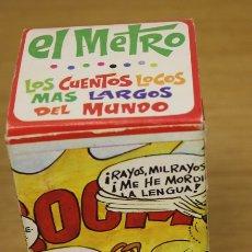 Tebeos: LOS CUENTOS LOCOS MAS LARGOS DEL MUNDO. EL METRO. EDITORIAL ROLLAN, AÑOS 70. Lote 135762369