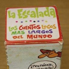 Tebeos: LOS CUENTOS LOCOS MAS LARGOS DEL MUNDO. LA ESCALADA. EDITORIAL ROLLAN, AÑOS 70. Lote 135764101