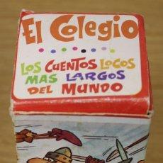 Tebeos: LOS CUENTOS LOCOS MAS LARGOS DEL MUNDO. EL COLEGIO. EDITORIAL ROLLAN, AÑOS 70. Lote 135764398