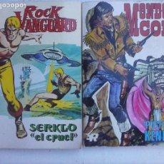 Tebeos: ROCK VANGUARD Nº 2 Y MENDOZA COLT Nº 5 EDI. ROLLAN 1974. Lote 136150138