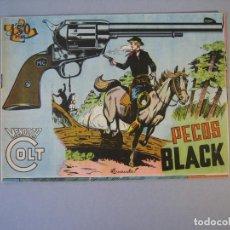 Tebeos: MENDOZA COLT (1956, ROLLAN) 82 · 3-IX-1959 · PECOS BLACK. Lote 136425286