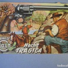 Tebeos: MENDOZA COLT (1956, ROLLAN) 15 · 26-IV-1957 · NOCHE TRAGICA. Lote 136425406