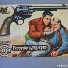 Tebeos: MENDOZA COLT (1956, ROLLAN) 60 · 8-XII-1958 · TRAGEDIA EN EL DESIERTO. Lote 136426618