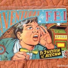 Tebeos: AVENTURAS DEL FBI-Nº165. Lote 137211750