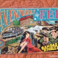 Tebeos: AVENTURAS DEL FBI-Nº3. Lote 137212350