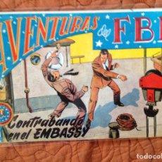 Tebeos: AVENTURAS DEL FBI-Nº118. Lote 137212970