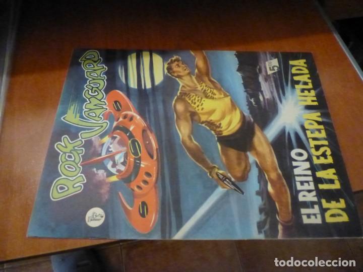 ROCK VANGUARD Nº 7, EL REINO DE LA ESTEPA HELADA, DE IMPRENTA , COMPLETAMENTE NUEVO (Tebeos y Comics - Rollán - Rock Vanguard)