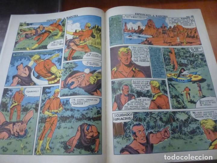 Tebeos: rock vanguard nº 11, expedicion a radoma, de imprenta , completamente nuevo - Foto 3 - 137906890