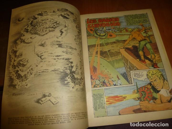 Tebeos: rock vanguard nº 10, los siete sabios custodios, de imprenta , completamente nuevo - Foto 2 - 137908290